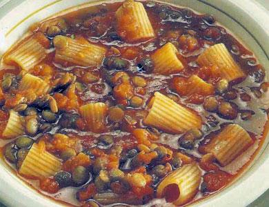 ricetta pasta e lenticchie pasta e lenticchie profumi di cucina